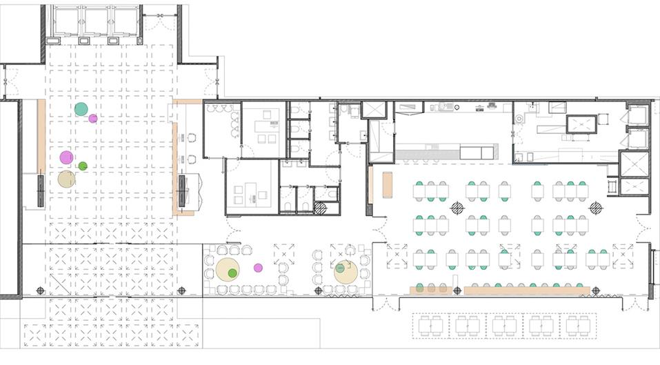 miriamcastells_diseño_interiores_clinica_diagonal_plano