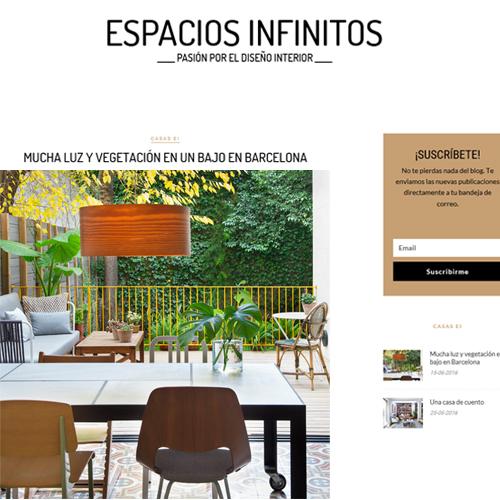 Vivienda bajos Madrazo_Espacios Infinitos