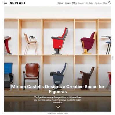 Design Centre Figueras International Seating_SURFACE_miriamcastellsstudio