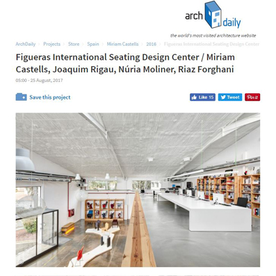 Design Centre Figueras International Seating_archdaily_miriamcastellsstudio